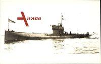 Australisches U Boot J 5 über Wasser