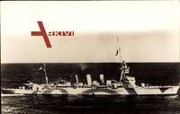 Australisches Kriegsschiff Adelaide bei voller Fahrt