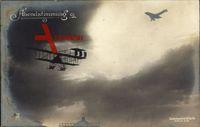 Flugzeuge aufgenommen in der Luft, Sanke, Rotophot Berlin
