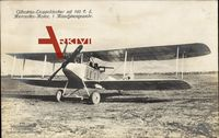 Albatros Doppeldecker mit 160 P.S., Mercedes Motor, Sanke 441