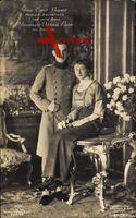 Prinz Ernst August, Viktoria Luise, Braunschweig, Preußen
