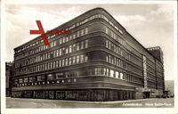 Gelsenkirchen, Straßenansicht mit Blick auf das Hans Sachs Haus, Hotel
