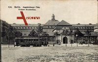 Berlin Wedding, Augustenburger Platz, Virchow Krankenhaus, Straßenbahn
