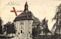 Berlin Wedding, Blick auf die Kapelle des Virchow-Krankenhauses