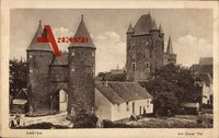 Xanten am Niederrhein, Partie am Klever Tor, Turm