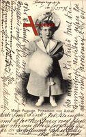 Prinzessin Marie Auguste von Anhalt als Kind