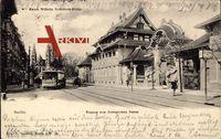 Berlin Tiergarten, Zoologischer Garten, Kaiser Wilhelm Gedächtniskirche, Tram