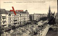Berlin Charlottenburg, Joachimsthaler Straße, Kaiser Wilhelm-Gedächtniskirche