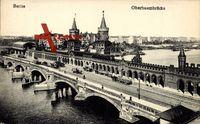 Berlin Friedrichshain, Blick auf die Oberbaumbrücke