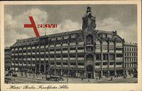 Berlin Friedrichshain, Hertie Waren und Kaufhaus GmbH Frankfurter Allee