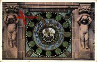 Berlin Mitte, Uhr in Hof 1 der Victoria Versicherung, Lindenstr. 20