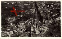 Berlin Charlottenburg, Flugzeugaufnahme der Kaiser Wilhelm Gedächtniskirche