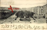 Berlin Tempelhof, Straßenpartie am Grimmpark, Wohnviertel