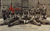Regiment Kriegsjahr 1915, 8 Inf. Rgt. I. Ers. Batl. II. R.D. Zimmer 40