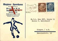 Dresden, Metzlers Sporthaus, Kurt Metzler, Schandauer Straße 15