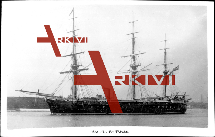 Britisches Kriegsschiff, HMS Repulse, Cuirassé, 1870