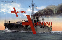 US Amerikanisches Kriegsschiff, USS Texas, Battleship, 1917