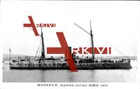 Britisches Kriegsschiff, HMS Hotspur, Garde Côtes, 1870