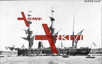 Britisches Kriegsschiff, HMS Iron Duke, 1870
