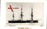 Britisches Kriegsschiff, HMS Triumph, 1870