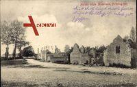 Arrigas Gard, Merlets letzte Mauerreste, Frühling 1915