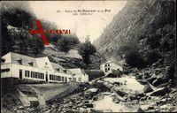 St. Sauveur Jura, Bains du Petit St. Sauveur, Pré, Cascades