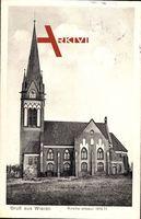Wieren Wrestedt Kreis Uelzen, Seitenansicht der Kirche