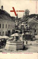 Mödling Niederösterreich, Kaiser Franz Josef Platz, Dreifaltigkeitssäule