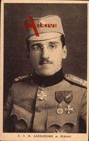 König Alexander I. von Jugoslawien, Serbien, Kroatien, Slowenien