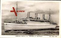 Canadian Pacific Ships, CPS, S.S. Empress of Australia