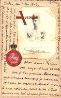 Passepartout Thyra von Dänemark, Frau Ernst Augusts von Hannover