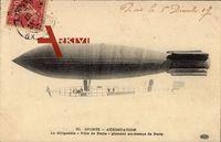 Sports, Aérostation, Dirigéable, Ville de Paris, Zeppelin