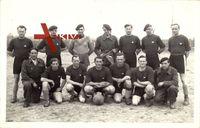 Kriegsgefangenenlager Stalag, Fußballmannschaft, Gruppenfoto