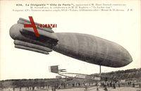 Dirigéable Ville de Paris, M. Henri Deutsch, Zeppelin