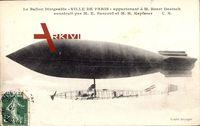 Ballon dirigéable Ville de Paris, M. Henri Deutsch, Zeppelin