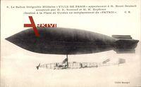 Le Ballon Dirigéable Militaire, Ville de Paris, M. Henri Deutsch, Zeppelin