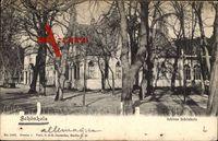 Berlin Pankow Niederhohenschönhausen Schönholz, Gartenanlage, Kirche