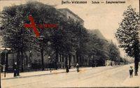 Berlin Pankow Weißensee, Schule, Langhansstraße, Passanten