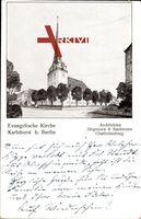 Berlin Lichtenberg Karlshorst, evangelische Kirche, Architekt Jürgensen