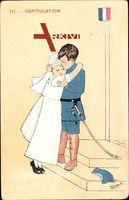 Capitulation, Französische Soldat, Hochzeit, Brautkleid