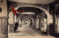 Lons le Saunier Jura, les Arcades, Geschäfte, J. Fournier