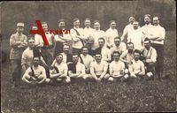 Ville au Val Meurthe et Moselle, Fußballmannschaft, Gruppenfoto