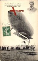 Les Pionniers de lAir, Aéronef de M. Malécot, Zeppelin