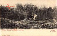 Mayumbe Demokratische Republik Kongo Zaire, Femme planteur, Bäuerin