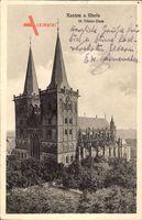 Xanten am Rhein, Blick auf den St. Viktor Dom