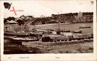 Manacor Mallorca Balearische Inseln, Blick auf den Hafen, Boote