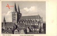 Xanten am Niederrhein, Domansicht, Südseite, links Michaelis Kapelle