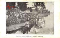 Équateur Demokratische Republik Kongo, Baptème de 197 néophytes à Bolengi