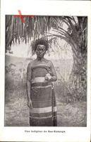 Bas Katanga Demokratische Republik Kongo, Une indigène