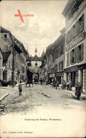 Porrentruy Pruntrut Kt. Jura, Faubourg de France, Cafe Temperance